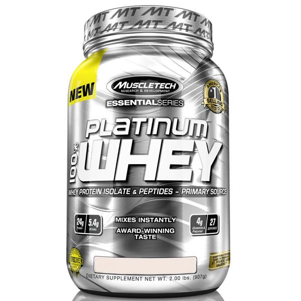 100% Platinum Whey 907 g - Muscletech