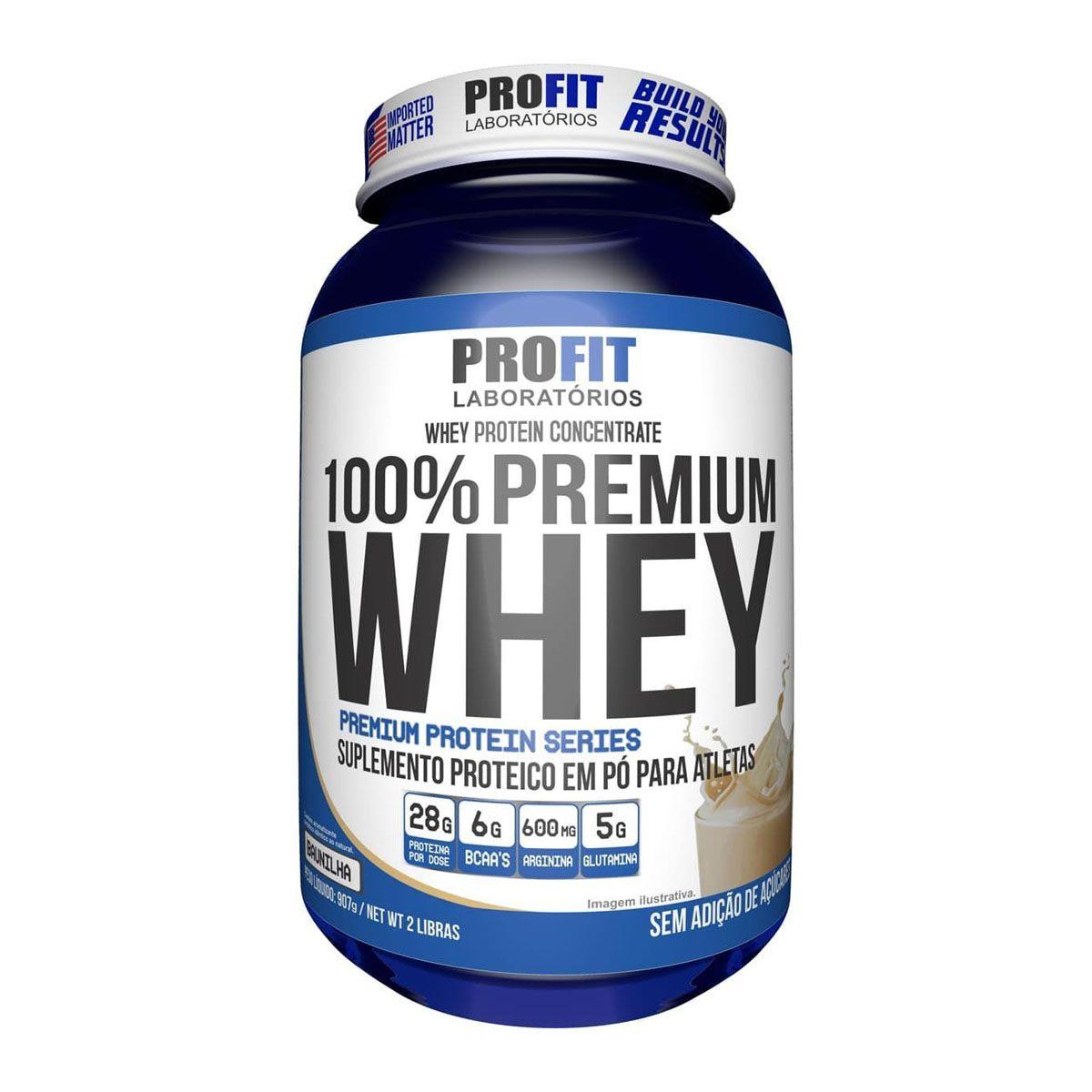 100% Premium Whey 900g - Profit
