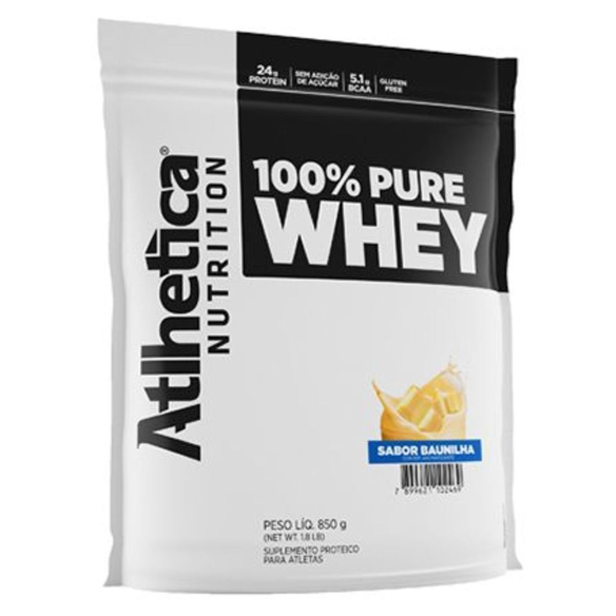 100% Pure Whey 850g - Atlhetica Nutrition