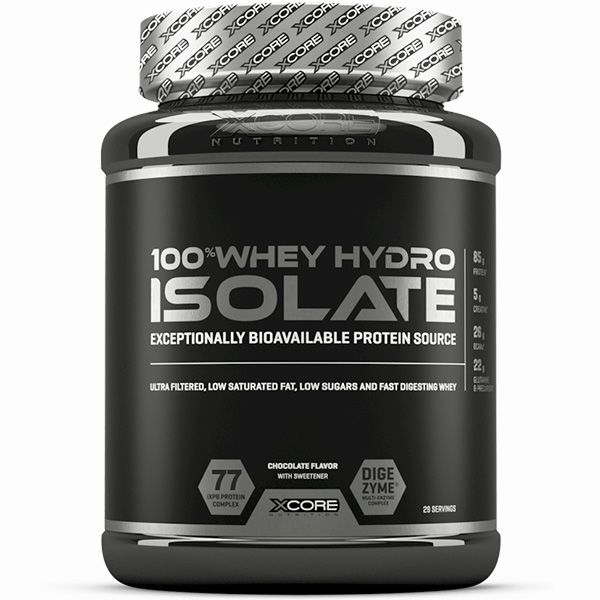 100% Whey Hydro Isolate 2kg - Xcore