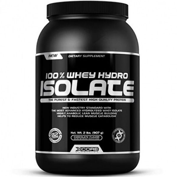 100% Whey Hydro Isolate 900g - Xcore