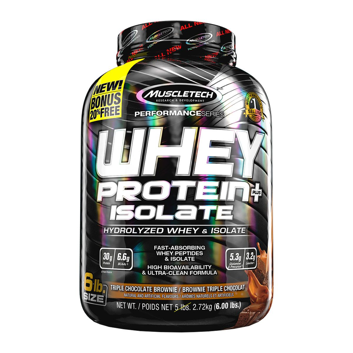 100% Whey Protein Isolate 2,7kg - Muscletech
