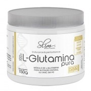 100% L-Glutamina Pura 150 g - Slim