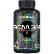 BCAA 3:1:1 120 Cápsulas - Black Skull