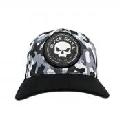 Boné Black Skull Flex Camouflage - Black Skull