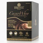 Cacao Whey Box - 15 unidades - Essential Nutrition