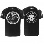 Camiseta 100% Algodão - Black Skull