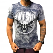 Camiseta BSK0110 Preto - Black Skull Clothing