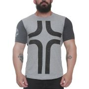 Camiseta Cross Cinza - Black Skull