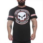 Camiseta Give Mission Preto - Black Skull