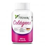 Colágeno 300mg - 60 Cápsulas - Fitoway