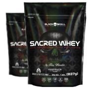Compre 1 Leve 2 Sacred Whey Refil - 837 g - Black Skull