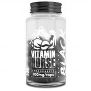 Ephedra Black 200mg 60 Cápsulas - Vitamin Horse