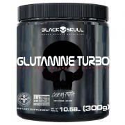 Glutamina Turbo 300g - Black Skull