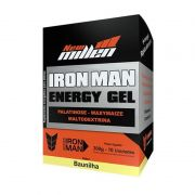 Iron Man Energy Gel 300g (10 sachês) - New Millen
