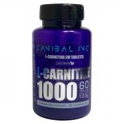 L-carnitina 1000mg 60 Tabletes - CANIBAL INC