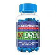 M-Drol - 60 Cápsulas - Clone Pharma