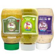 Molhos para Salada 300ml - Mrs Taste