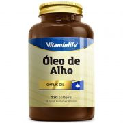 Óleo de alho 120 cápsulas - Vitamin Life