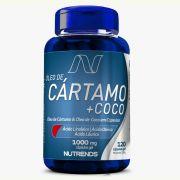 Óleo de Cártamo + Coco 120 cápsulas - Nutrends