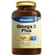 Omega 3 Plus 90 Cápsulas - Vitamin Life