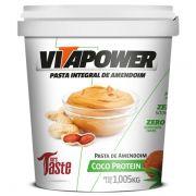 Pasta de Amendoim - Coco - 1 kg - Vitapower