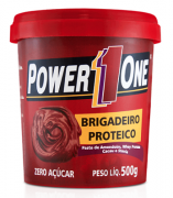 Pasta de Amendoim 500 g - Power One