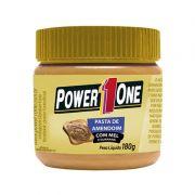 Pasta de Amendoim Mel com Guaraná - 180g - Power One