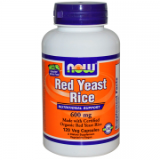 Red Yeast Rice 60 cápsulas - Now
