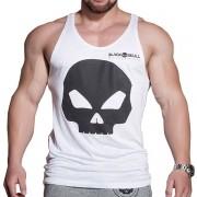 Regata Caveirão - Branca - Black Skull