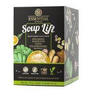 Soup Lift Vegana - 10 Sachês de 31g -  Essential Nutrition