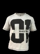 T-shirt 01 Cinza - Black Skull Clothing