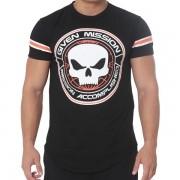 T-Shirt Given Mission – Black Skull