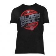 T-Shirt Motor - Preto - Black Skull