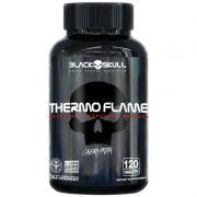 Termogenico Thermo Flame 120 Cápsulas - Black Skull