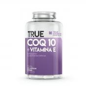True Coq 10 + Vitamina E 60 Cáps - True Source