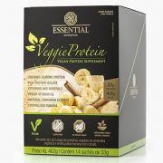 Veggie Protein Banana e Canela Box - 14 unidades - Essential Nutrition