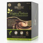 Veggie Protein Cacau Box - 13 unidades - Essential Nutrition