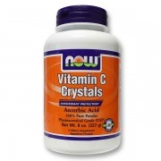 Vitamina C Crystals 227 g - Now