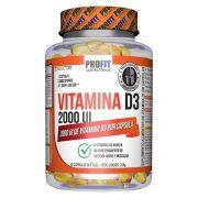 Vitamina D3 2000UI 60 cápsulas - Profit