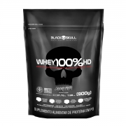 Whey 100% HD 900g Refil - Black Skull