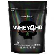 Whey 4HD 837 g Refil - Black Skull