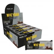 Whey Bar Creamy 12 Unidades - Probiótica