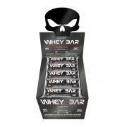 Whey Bar Low Carb Caixa com 24 Unidades - Black Skull