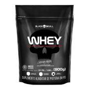 Whey Protein Refil 900g - Black Skull