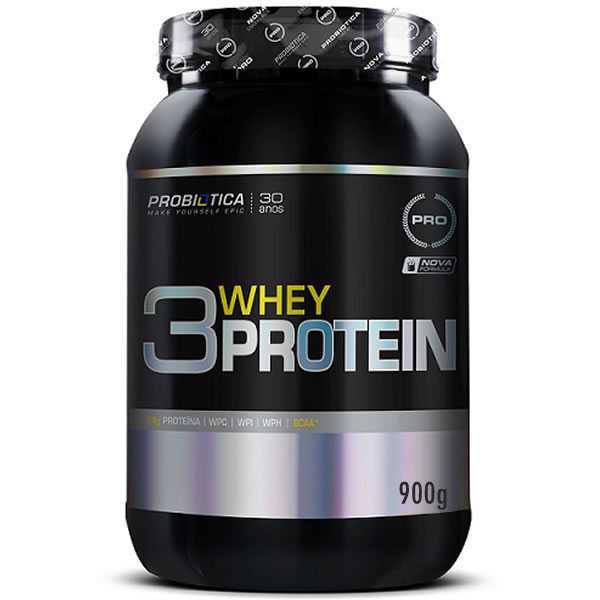 3W Protein 900 g - Probiótica