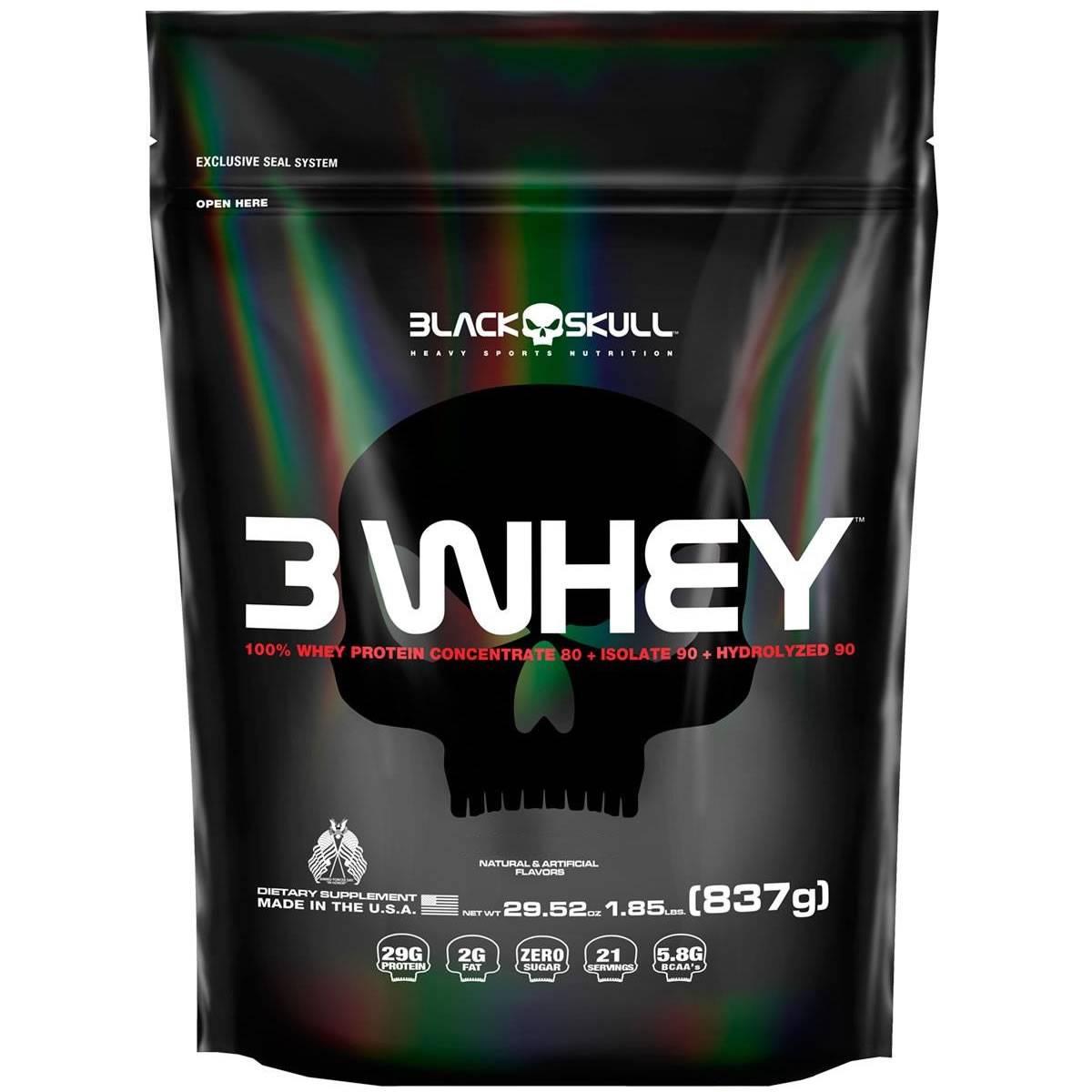 3Whey 837 g - Black Skull