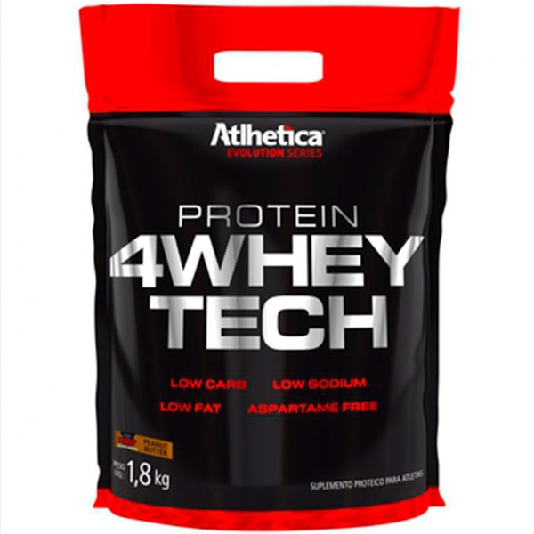 4 Whey Tech 1,8KG - Atlhetica Nutrition