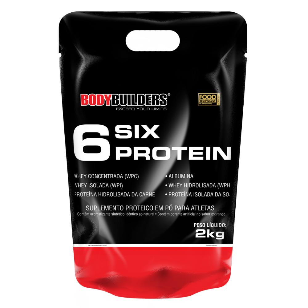 6 Six Protein Refil 2 Kg - Body Builders