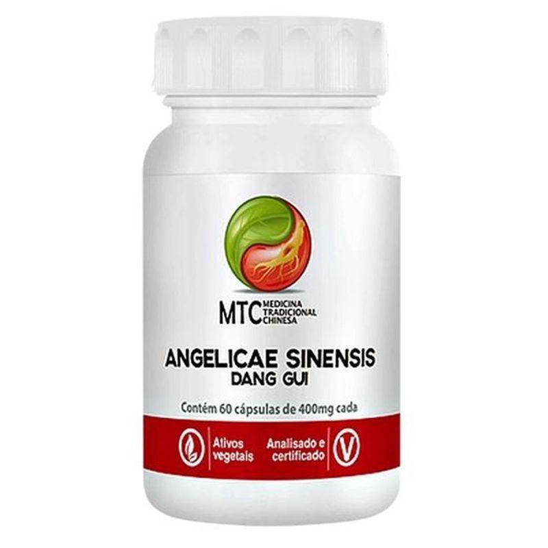 Agelicae Sinensis (Dang Gui) 400mg -  60 Cápsulas - Vitafor